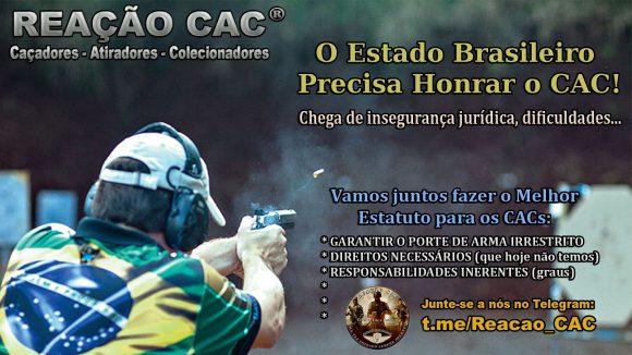 Estatuto dos CACs: Em defesa dos direitos e do Porte de Arma de Fogo irrestrito – PAF (vitalício)